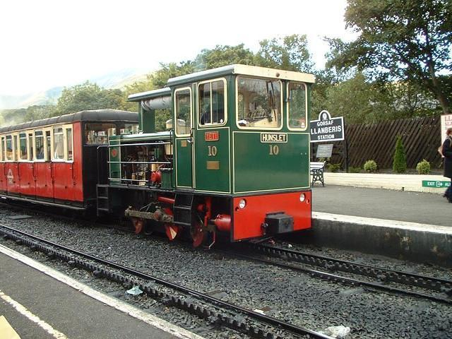 The train that takes you up Snowdon
